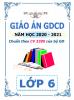 Giáo án chủ đề theo 5 hoạt động (2 cột) môn GDCD - Lớp 6 - Năm 2020-2021 - File word