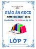 Giáo án chủ đề theo 5 hoạt động (2 cột) môn GDCD - Lớp 7 - Năm 2020-2021 - File word