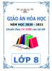 Giáo án theo chủ đề 5 hoạt động PTNL (CV 3280) - 2020-2021 - Hóa Học - Lớp 8 - File word