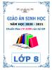 Giáo án theo chủ đề 5 hoạt động PTNL - 2020-2021 - Sinh Học - Lớp 8 - File word