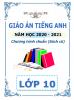 Giáo án giảng dạy môn Tiếng Anh Chương trình chuẩn lớp 10 ( Sách cũ ) - File word