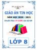 Giáo án theo chủ đề và PTNL môn Tin Học (CV 3280) - Lớp 8 - Năm 2020-2021 - File word