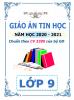 Giáo án theo chủ đề và PTNL môn Tin Học (CV 3280) - Lớp 9 - Năm 2020-2021 - File word