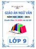 Giáo án theo chủ đề 5 hoạt động PTNL - 2020-2021 - Ngữ Văn - Lớp 9 - File word