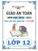 Giáo án Toán theo PP Mới (5 hoạt động 2 cột) Lớp 12 (2020-2021) - File word